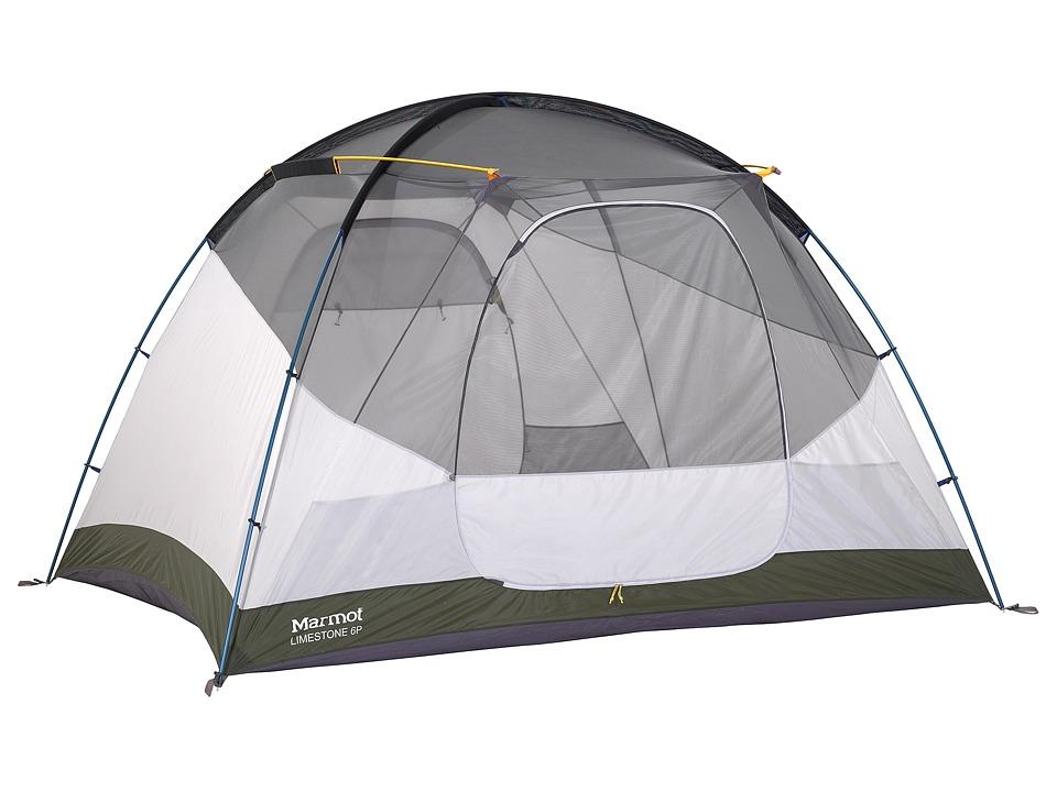 Marmot Limestone 6P Tent Hatch/Dark Cedar 1 Outdoor Sports Equipment