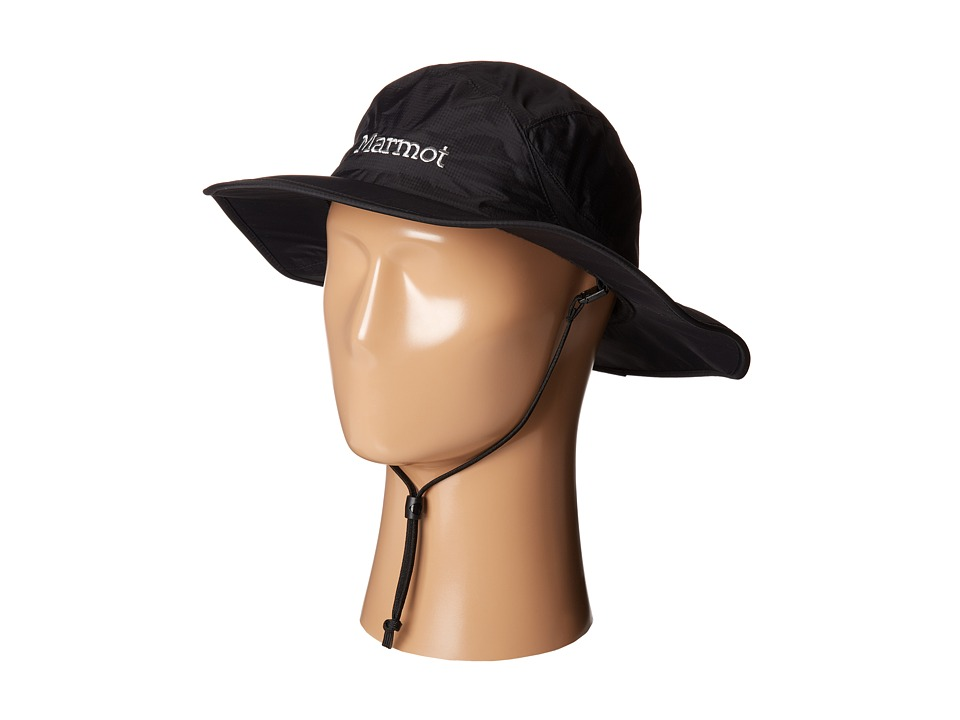 Marmot - PreCip Safari Hat (Black 1) Traditional Hats