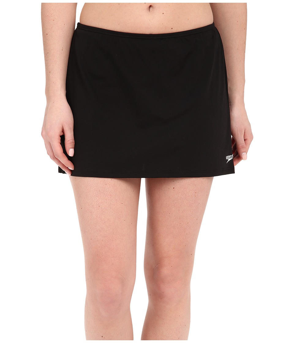 Speedo Skirtini w/ Compression Short (Black) Women