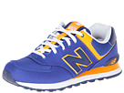 New Balance Classics M574 Blue, Yellow Shoes