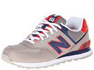 New Balance Classics M574 Grey, Blue Shoes