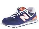 New Balance Classics M574 Blue, Red SP14 Shoes