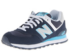 New Balance Classics W574 Blue, Light Blue SP14 Shoes