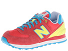 New Balance Classics WL574 Carnival Watermelon Shoes
