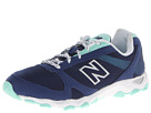 New Balance Classics WL661v3 Fashion Trail Blue, White, Brown Shoes