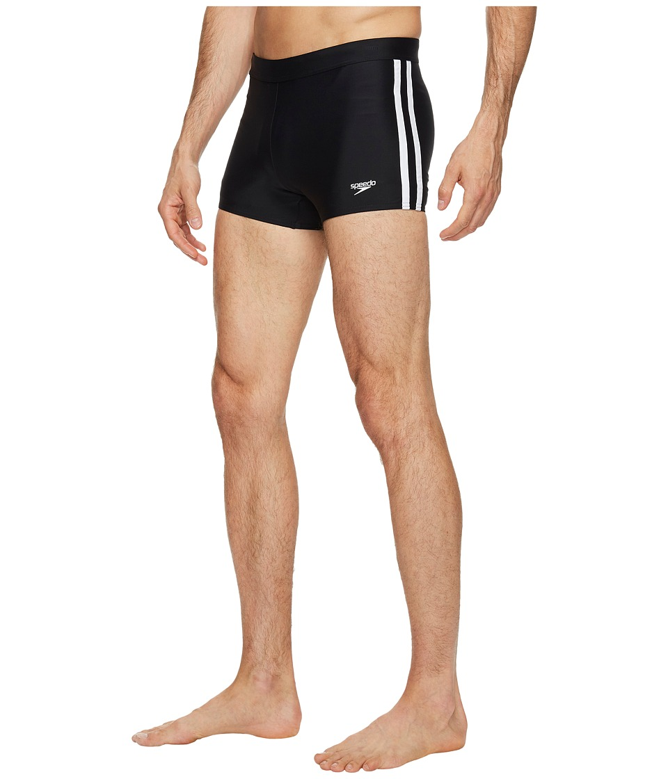 Speedo - Shoreline Square Leg (Black) Mens Swimwear