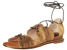10 Crosby Derek Lam - Penny (Gold Foil Snake Print Leather) - Footwear