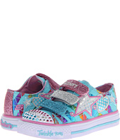 SKECHERS KIDS - Shuffles - Classy Sassy Lighted 10336L (Little Kid/Big Kid)