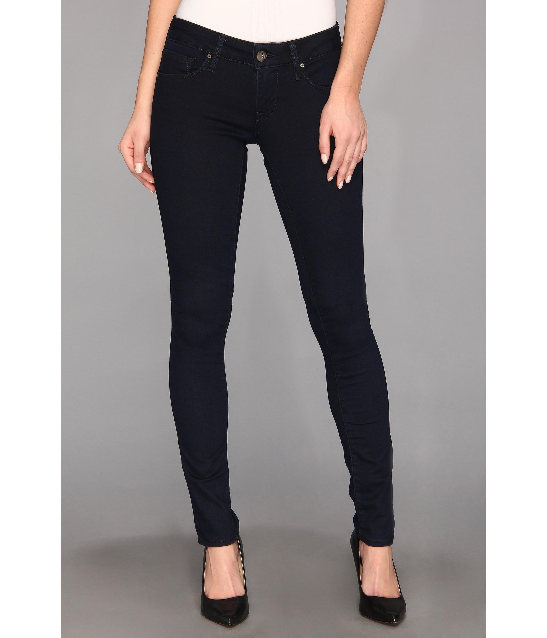 mavi jeans serena low rise super skinny in dark shanti. Black Bedroom Furniture Sets. Home Design Ideas