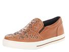 Just Cavalli - Leopard Studded Slip On Sneaker (Cognac) - Footwear
