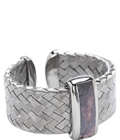 Roberto Coin - Woven Bangle with Black Mother Of Pearl