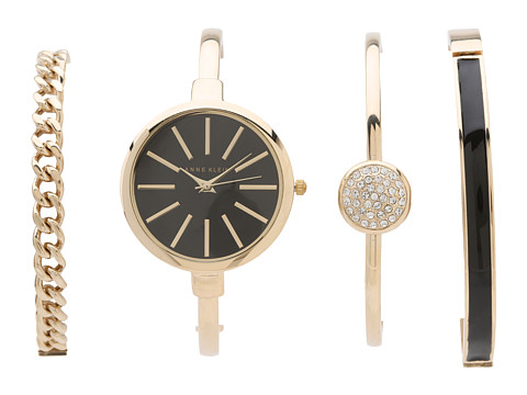 Anne Klein AK-1470GBST - Gold/Black