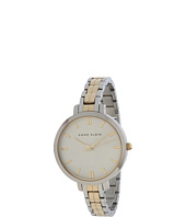 Anne Klein - AK-1447SVTT Everyday Classics Thin Bracelet Watch