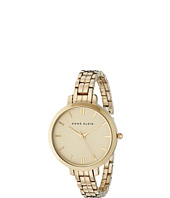 Anne Klein - AK-1446CHGB Everyday Classics Thin Bracelet Watch