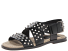 DSQUARED2 - Tuck Studded Sandal (Black) - Footwear
