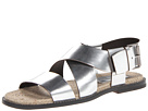 DSQUARED2 - Tuck Mirrored Sandal (Silver) - Footwear