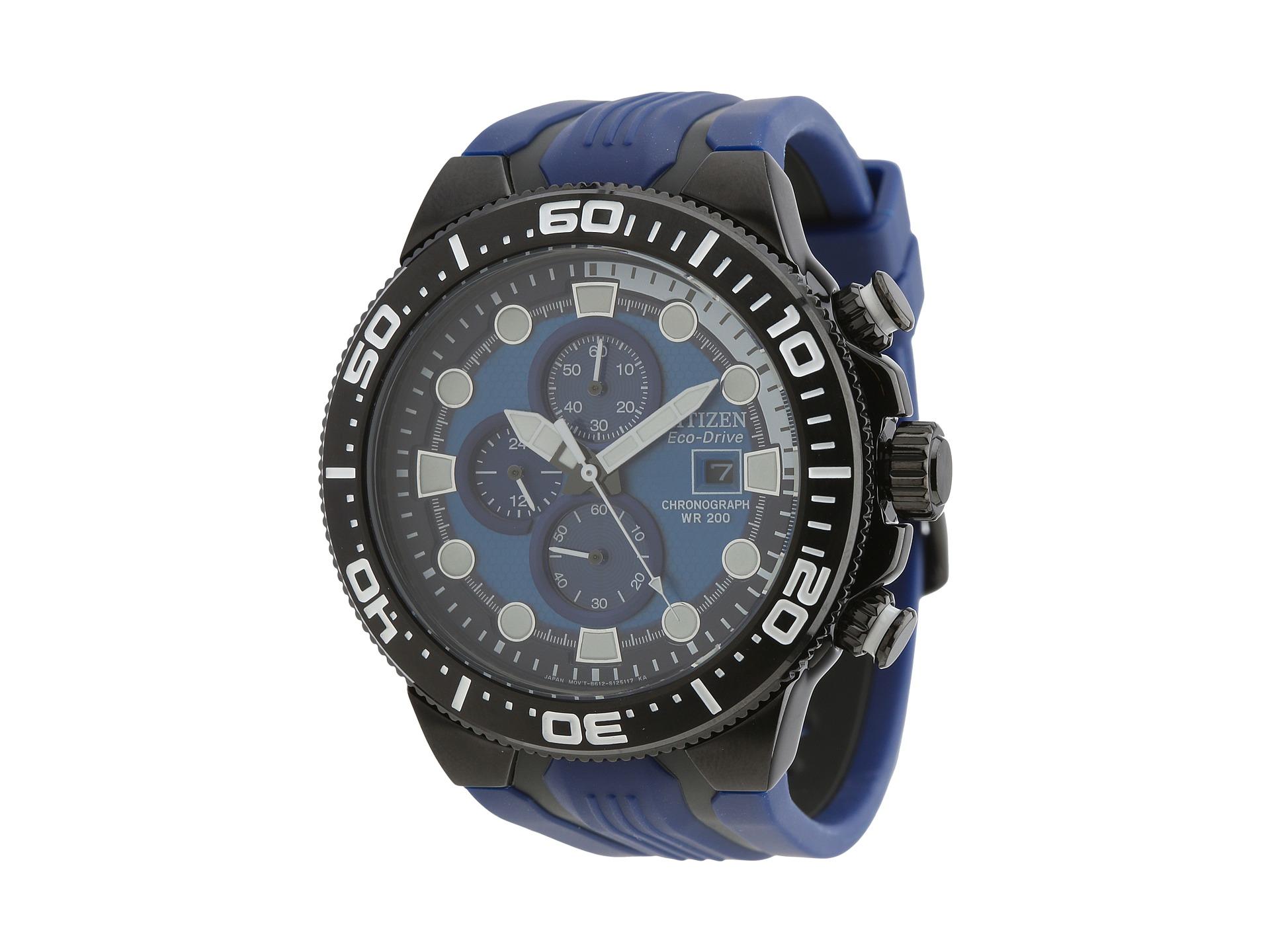citizen watches ca0515 02l eco drive scuba fin chronograph