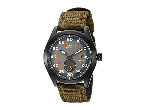 Citizen Watches BV1085-22H Eco-Drive Nylon Strap Watch