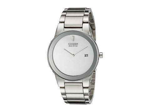 Citizen Watches AU1060-51A Eco-Drive Axiom Watch - Silver Tone Stainless Steel