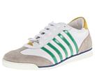 DSQUARED2 - New Runner Sneaker (White/Green) - Footwear