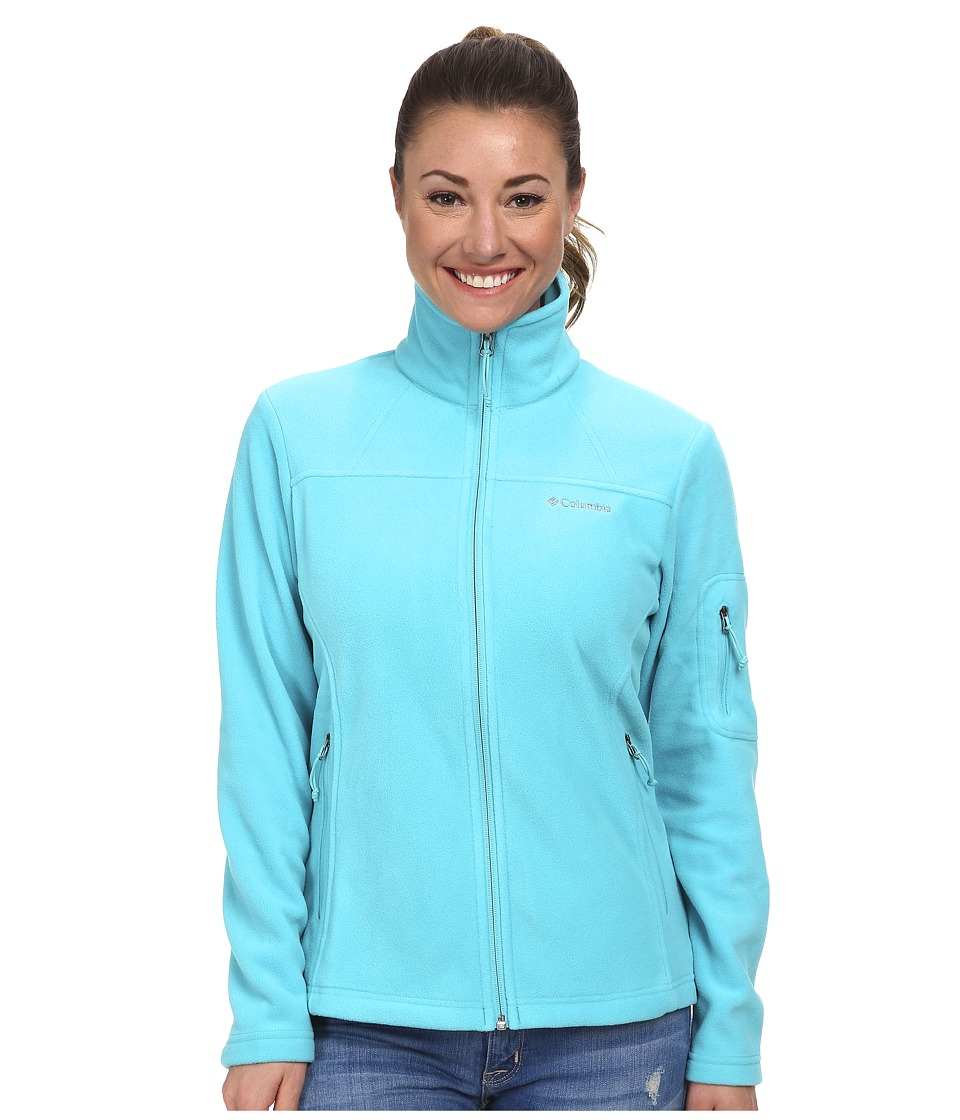 Columbia Fast Trektm II Full-Zip Fleece Jacket (Geyser) Women