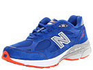 New Balance W990V3 NYC Blue, Race Red, White Shoes