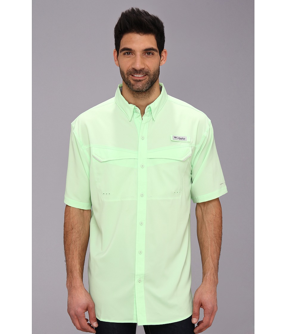 Columbia Low Drag Offshore S/S Shirt Key West Mens Short Sleeve Button Up
