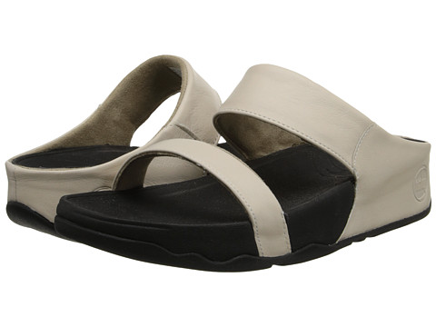 FitFlop Lulu Slide (Antique White) Women's Sandals