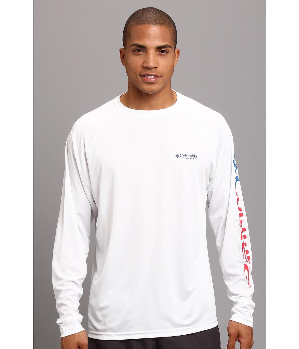 Columbia - Terminal Tackle L/S Shirt (White Stars and Stripes Logo) Men