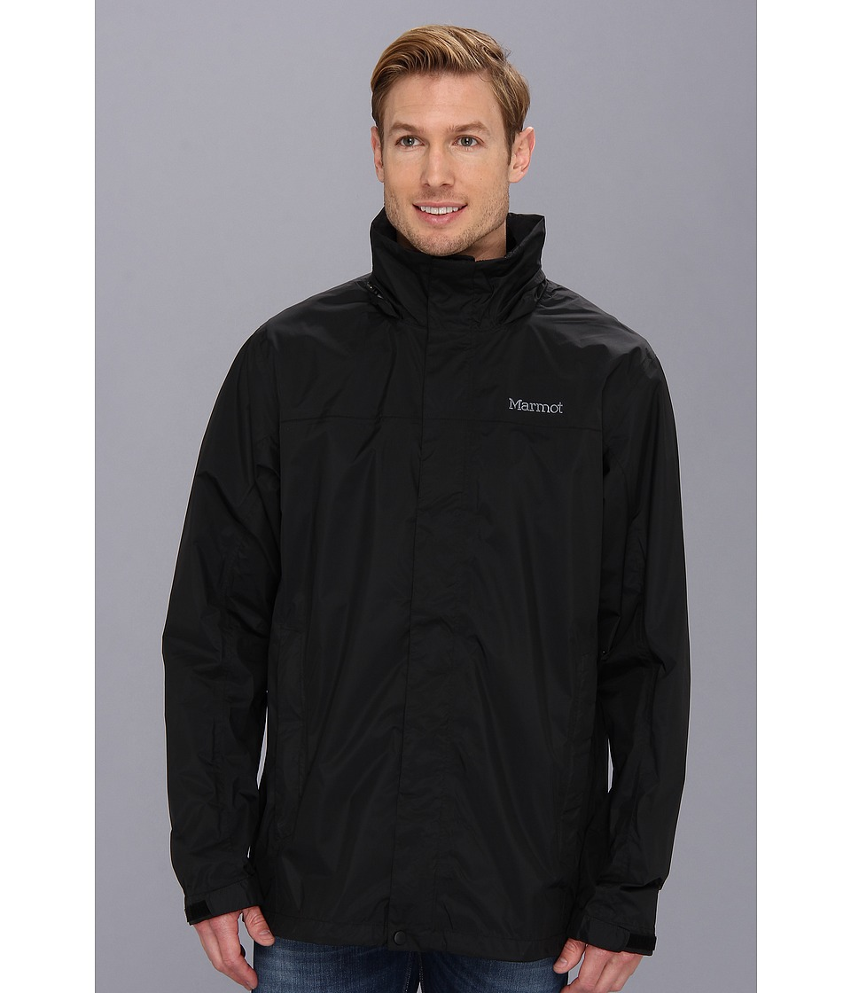Marmot PreCip(r) Jacket Tall (Black) Men