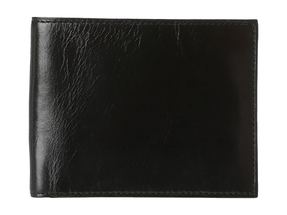 Bosca - Old Leather Classic 8 Pocket Deluxe Executive Wallet (Black) Wallet Handbags