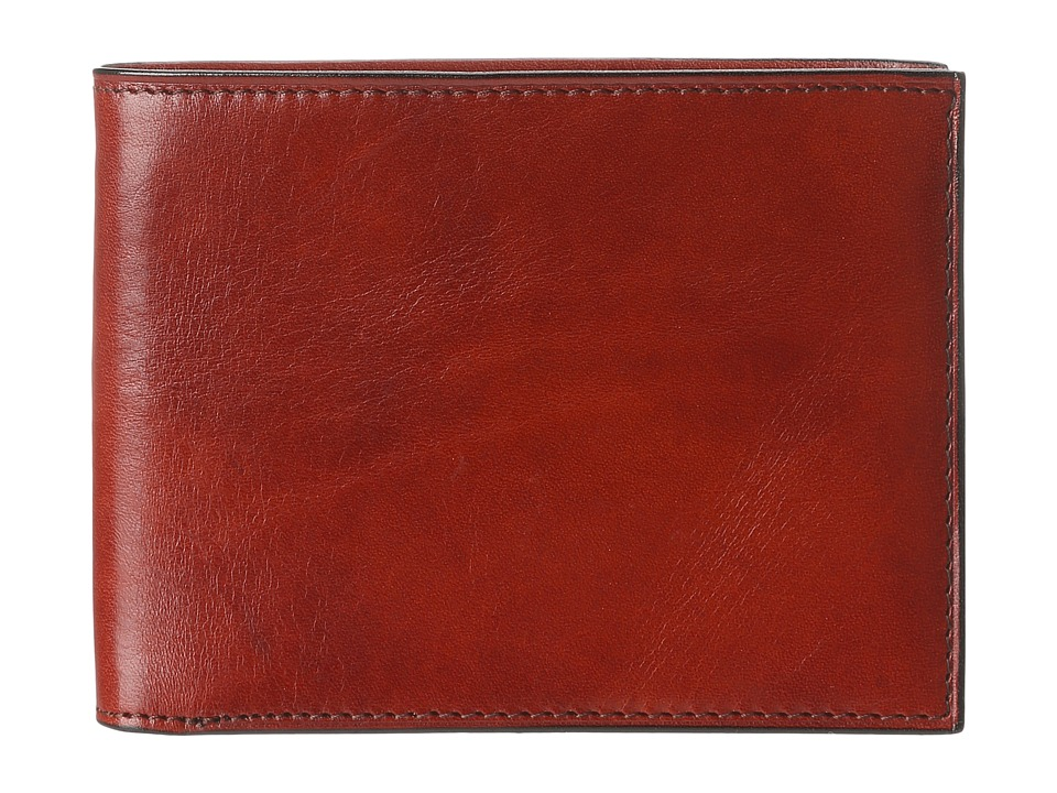 Bosca - Old Leather Classic 8 Pocket Deluxe Executive Wallet (Cognac) Wallet Handbags