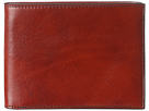 Bosca Old Leather Classic 8 Pocket Deluxe Executive Wallet (Cognac)