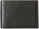 Bosca Old Leather Continental I.D. Wallet (Black)