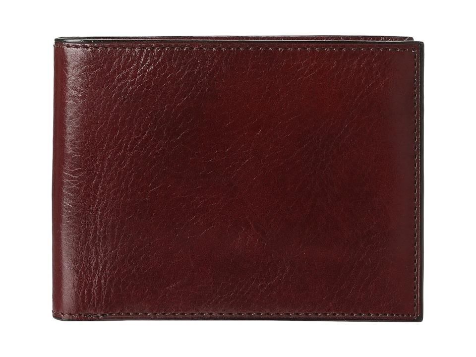 Bosca - Old Leather Classic 8 Pocket Deluxe Executive Wallet (Dark Brown) Wallet Handbags