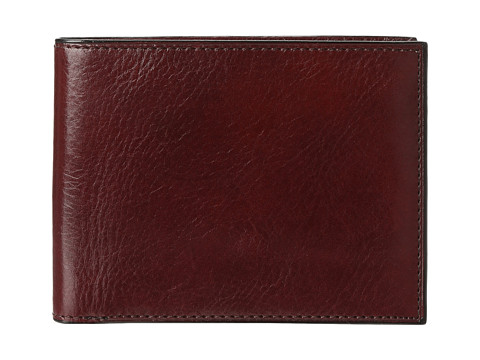 Bosca Old Leather Classic 8 Pocket Deluxe Executive Wallet - Dark Brown
