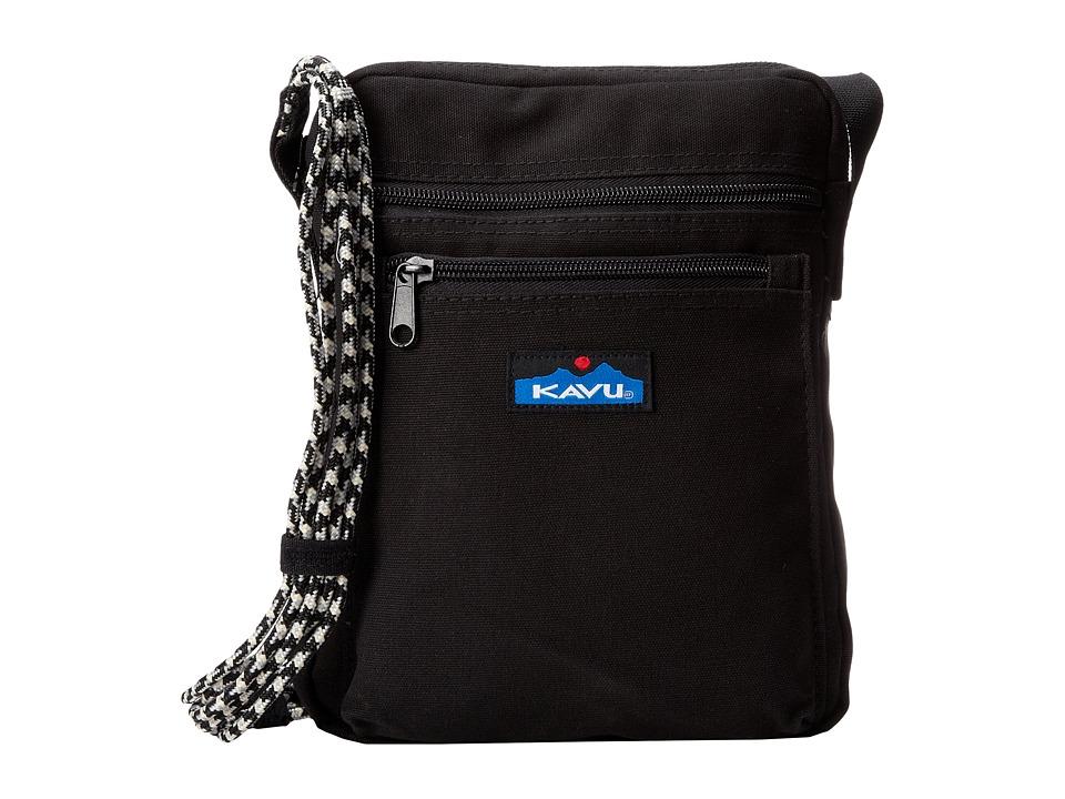 KAVU - Zippit (Black) Bags