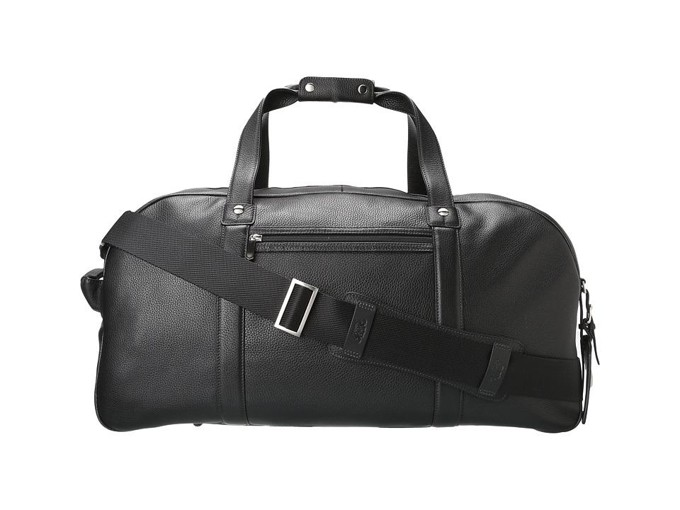 Bosca Tribeca Weekend Duffel (Black) Duffel Bags