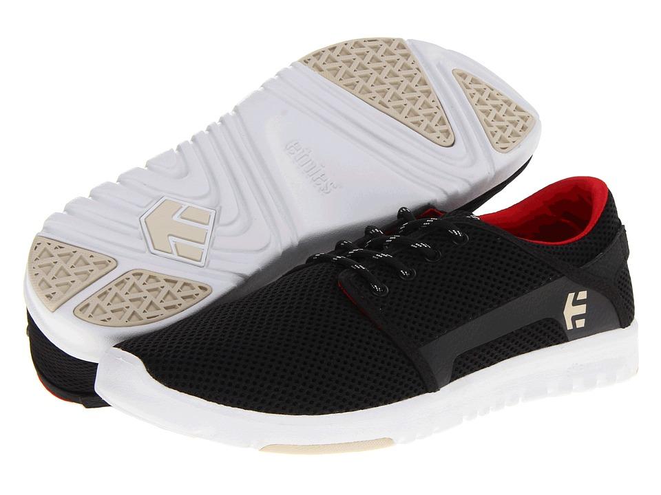 etnies Scout Black Mens Skate Shoes