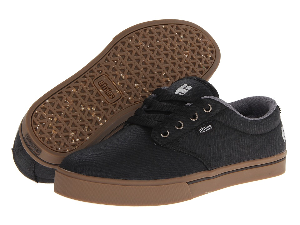 etnies - Jameson 2 Eco (Black/Gum/White) Mens Skate Shoes