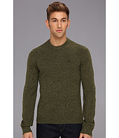 Original Penguin - Wool Sweater w/ Faux Suede Elbow Patches