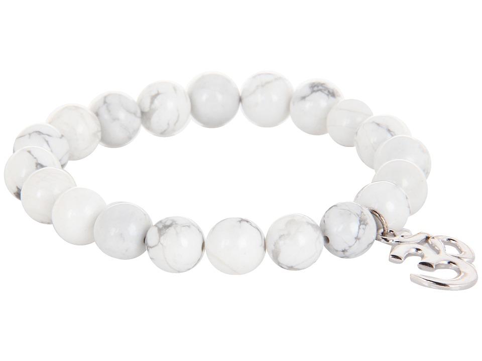 Dee Berkley Dharma White Bracelet