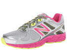 New Balance Kids 860v4 Little Kid, Big Kid Grey, Pink Shoes