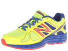 New Balance Kids 860v4 Little Kid, Big Kid Yellow, Blue Shoes