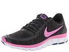 Nike - Free 5.0 V4 (Black/Anthracite/White/Red Violet)