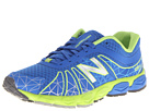 New Balance Kids 890v4 Big Kid Blue, Green Shoes