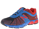 New Balance Kids 890v4 Big Kid Blue, Red Shoes