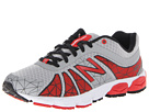 New Balance Kids 890v4 Big Kid Silver, Red Shoes