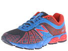 New Balance Kids 890v4 Little Kid Blue, Red Shoes