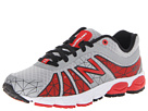 New Balance Kids 890v4 Little Kid Silver, Red Shoes